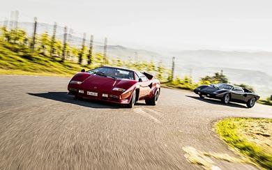 1981 Lamborghini Countach LP400 S wallpaper thumbnail.