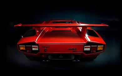 1985 Lamborghini Countach 5000QV wallpaper thumbnail.