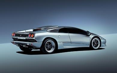 1996 Lamborghini Diablo SV wallpaper thumbnail.