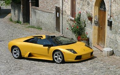 2004 Lamborghini Murcielago Roadster wallpaper thumbnail.