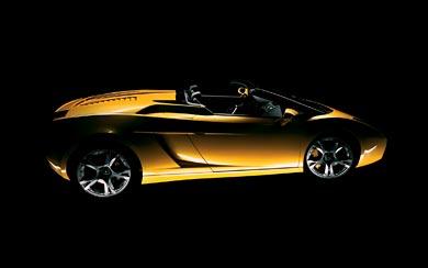 2006 Lamborghini Gallardo Spyder wallpaper thumbnail.