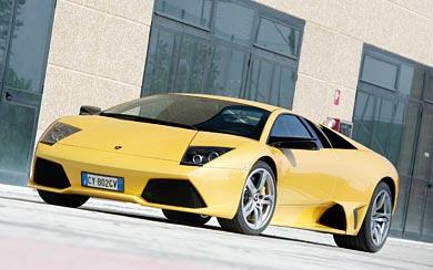 2006 Lamborghini Murcielago LP640 wallpaper thumbnail.