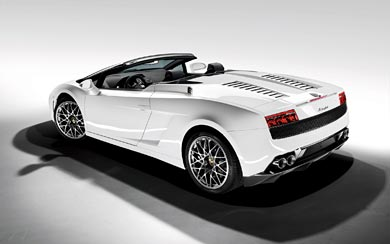 2009 Lamborghini Gallardo LP560-4 Spyder wallpaper thumbnail.