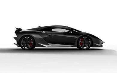 2010 Lamborghini Sesto Elemento Concept wallpaper thumbnail.