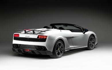 2011 Lamborghini Gallardo LP570-4 Spyder Performante wallpaper thumbnail.