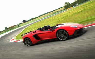 2012 Lamborghini Aventador J Concept wallpaper thumbnail.
