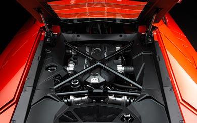 2012 Lamborghini Aventador LP700-4 wallpaper thumbnail.