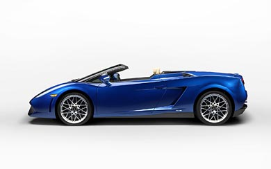 2012 Lamborghini Gallardo LP550-2 Spyder wallpaper thumbnail.
