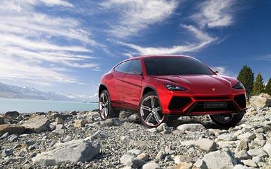 2012 Lamborghini Urus Concept wallpaper thumbnail.
