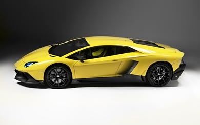 2013 Lamborghini Aventador LP720-4 50th Anniversario wallpaper thumbnail.
