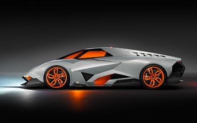 2013 Lamborghini Egoista Concept wallpaper thumbnail.