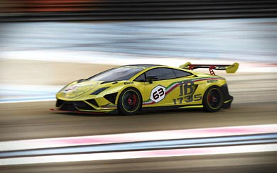 2013 Lamborghini Gallardo LP570-4 Super Trofeo wallpaper thumbnail.