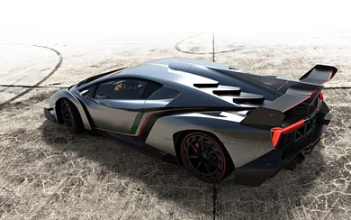 2013 Lamborghini Veneno wallpaper thumbnail.