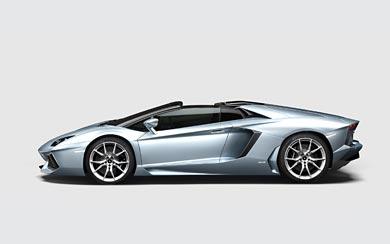 2014 Lamborghini Aventador LP700-4 Roadster wallpaper thumbnail.