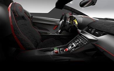 2014 Lamborghini Veneno Roadster wallpaper thumbnail.