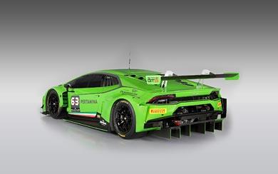 2015 Lamborghini Huracan GT3 wallpaper thumbnail.