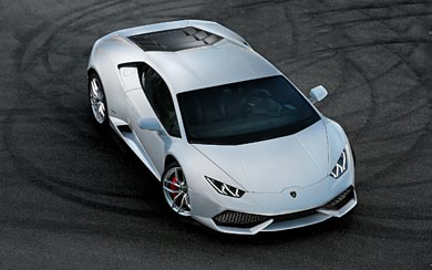 2015 Lamborghini Huracan LP610-4 wallpaper thumbnail.