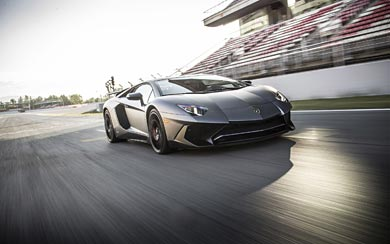 2016 Lamborghini Aventador LP750-4 SV wallpaper thumbnail.