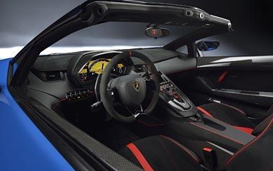 2016 Lamborghini Aventador LP750-4 SV Roadster wallpaper thumbnail.