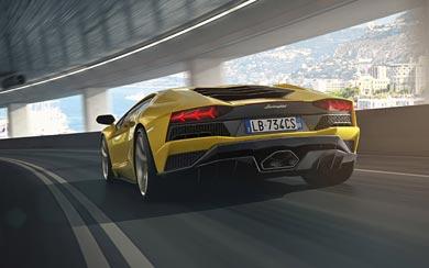 2017 Lamborghini Aventador S wallpaper thumbnail.