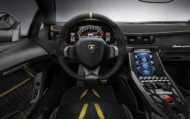 2017 Lamborghini Centenario wallpaper thumbnail.