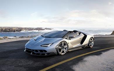 2017 Lamborghini Centenario Roadster wallpaper thumbnail.