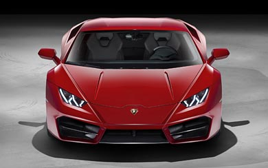2017 Lamborghini Huracan LP580-2 wallpaper thumbnail.