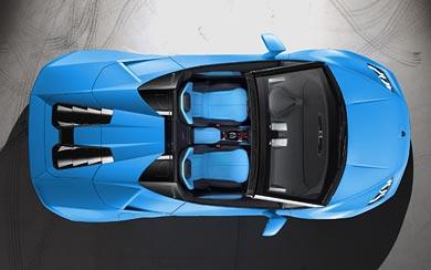 2017 Lamborghini Huracan LP610-4 Spyder wallpaper thumbnail.