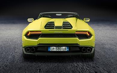 2017 Lamborghini Huracan RWD Spyder wallpaper thumbnail.