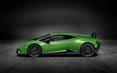 2018 Lamborghini Huracan Performante wallpaper thumbnail.