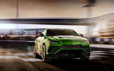 2018 Lamborghini Urus ST-X Concept wallpaper thumbnail.