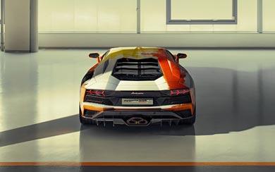 2019 Lamborghini Aventador S by Skyler Grey wallpaper thumbnail.