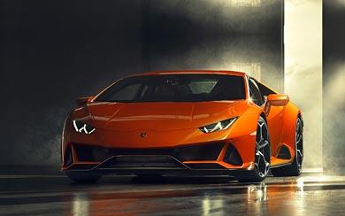 2019 Lamborghini Huracan EVO thumbnail.