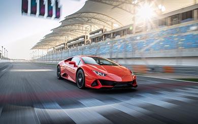 2019 Lamborghini Huracan EVO wallpaper thumbnail.