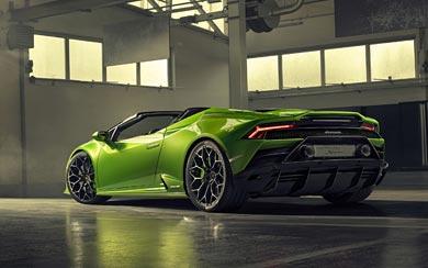 2019 Lamborghini Huracan EVO Spyder wallpaper thumbnail.