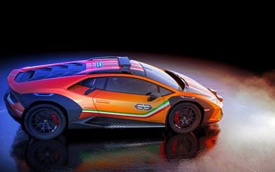 2019 Lamborghini Huracan Sterrato Concept wallpaper thumbnail.