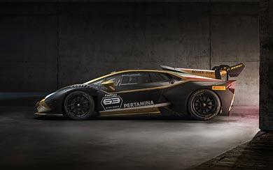 2019 Lamborghini Huracan Super Trofeo EVO Collector wallpaper thumbnail.