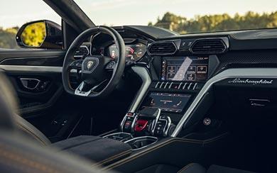 2019 Lamborghini Urus wallpaper thumbnail.
