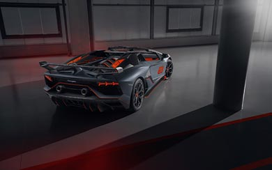 2020 Lamborghini Aventador SVJ 63 Roadster wallpaper thumbnail.