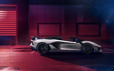 2020 Lamborghini Aventador SVJ Roadster Xago Edition wallpaper thumbnail.