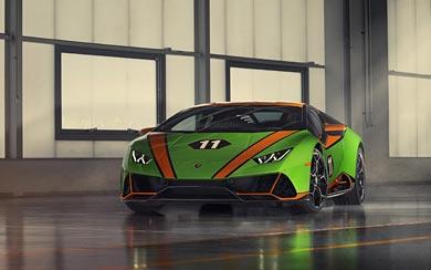 2020 Lamborghini Huracan EVO GT Celebration wallpaper thumbnail.