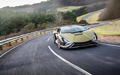 2020 Lamborghini Sian wallpaper thumbnail.