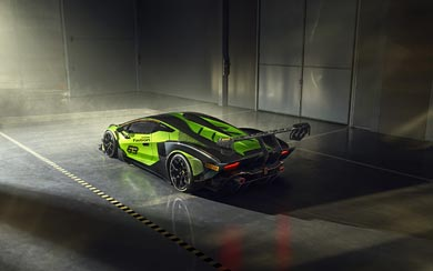 2021 Lamborghini Essenza SCV12 wallpaper thumbnail.