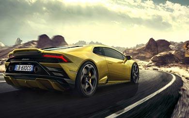 2021 Lamborghini Huracan EVO RWD wallpaper thumbnail.