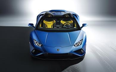 2021 Lamborghini Huracan EVO RWD Spyder wallpaper thumbnail.