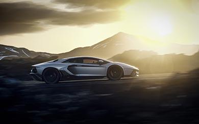 2022 Lamborghini Aventador LP780-4 Ultimae wallpaper thumbnail.