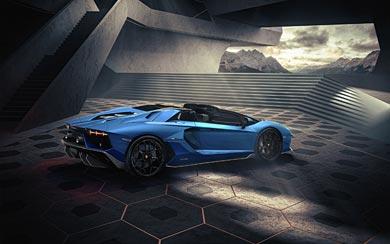 2022 Lamborghini Aventador LP780-4 Ultimae Roadster wallpaper thumbnail.