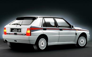 1992 Lancia Delta HF Integrale Evoluzione wallpaper thumbnail.