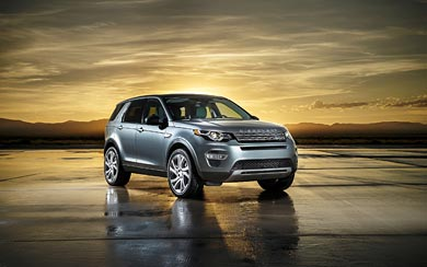 2015 Land Rover Discovery Sport wallpaper thumbnail.