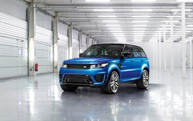 2015 Land Rover Range Rover Sport SVR wallpaper thumbnail.
